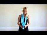 20 идей как завязать красиво шарф или платок